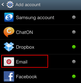 ������ Webmail Android Outlook