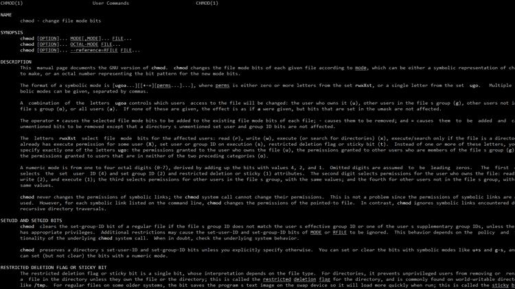 تصريح الـsticky bit في اللينكس وكيف تستفيد منه؟